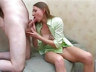 Sexy Russian Mature, fuck young Guy with here sexy Heels