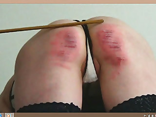 The caning of slave girl E