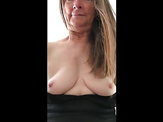 Grandma loves to ride and cum