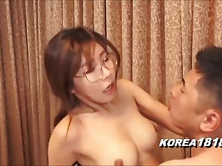 korean glasses girl in japanese porn