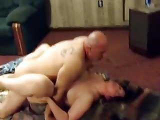 Cheating couple fucking on cam