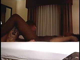 Ebony milf cheating her husband