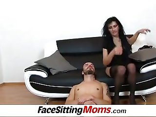 Mature pussy licking with Euro mom Marta