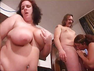 Swingers sex party. part 2.  Now the BBW girl