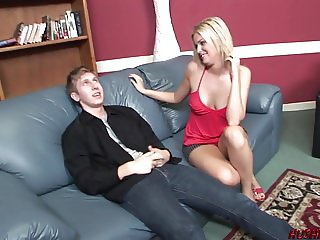 Hot Mom fucks a young stranger