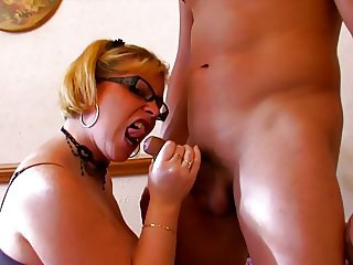 Nerd Spanish Mature Hard Fuck