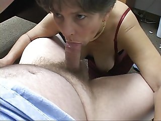Cute Little Anal Granny Gets Used