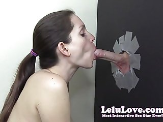Lelu Love-First Time Gloryhole Blowjob Facial