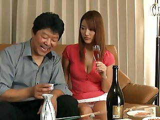 Bad Father-in-law Seduces New Bride