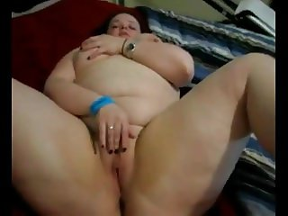 Horny Fat BBW Hottie from the bar wanted to swallow my cum