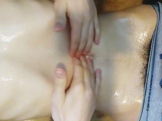 HOTTEST BELLY IN THE WORLD OILED
