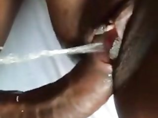Black wife cheating and squirting for lover