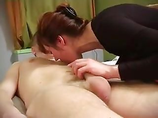 russian mom fucks her son's friend