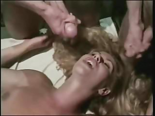 Peter North & friend cum all over Barbara Doll