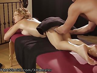 Krissy Lynn Likes her Massages Deep and Hard!