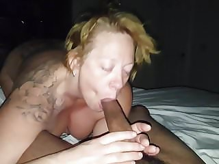 Bunny Alexa's First Taped BJ with Her DADDY