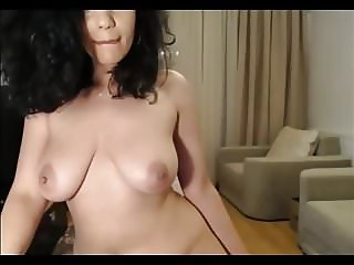Gorgeous Spanish girl fucks herself