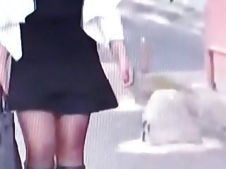 Slut turkish woman in Shiny black pantyhose