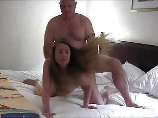 Pregnant Sexy Hot Wife Gets a Creampie
