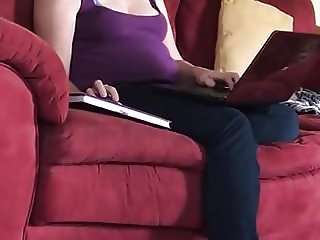 Pregnant wife tits