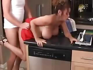 milf fuck in the kitchen