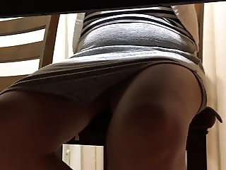Asian Mature Wife Upskirt