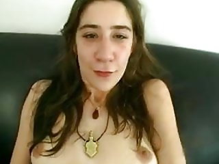 Hairy pussy hippie gets fucked.