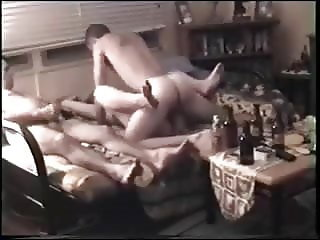 Aussie looks on while wife gets fucked.