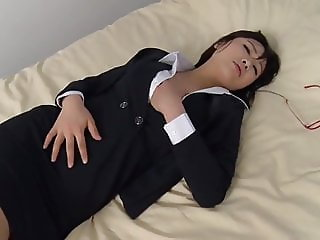 Naughty Japanese Business Lady