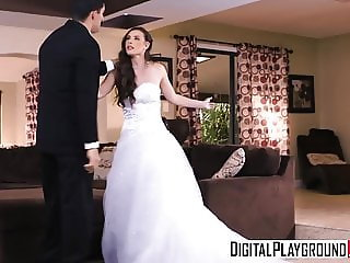 DigitalPlayground - Wedding Belles Scene 2 Casey Calvert Bra