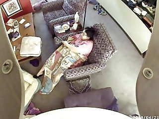 Ceiling fan hidden cam