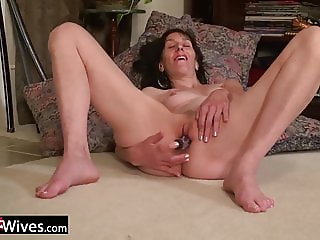 USAwives Solo Milf Pussy Toying Compilation