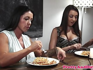 Taboo stepdaughter getting drilled in closeup
