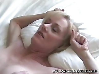 Making Melanie Cum And Cum