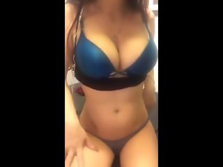 Teen With Huge Tits Goes On Cam For The First Time