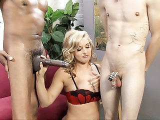 Dayna Vendetta Fucks A Big Black Cock In Front Of Cuckold