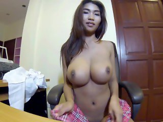 My Asian boobs are 100% real