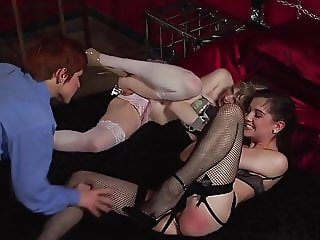 They are Dominate by a Sexy Redhead.