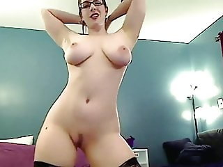The Way She Moves - big tits babe strip dance tease