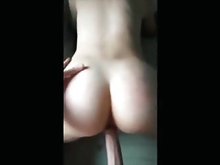 Amateur Slut loves getting nailed from the back POV