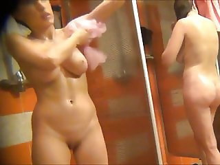 Hidden cam delicious girl in shower