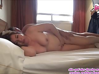 German Privat Milf from chat get creampie fuck