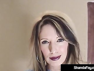 Mature Cougar Shanda Fay Gets Her Pussy Licked & Fucked!