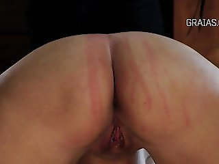 Some whipping exercise on a nice butt