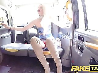 Fake Taxi Golden shower for hot lady followed by some anal