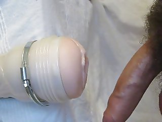 Another Fleshlight orgasm