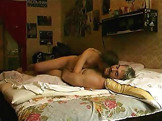 Submissive young girl having sex with old guy !