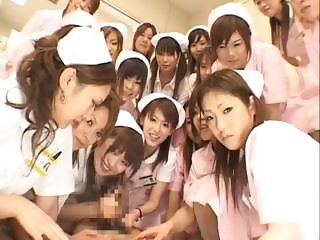 Real asian nurses enjoy intercourse on top part2