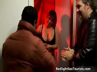 Thick big tits redhead hooker loves part5