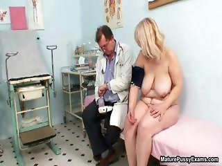 Fat blonde housewife getting horny being part3